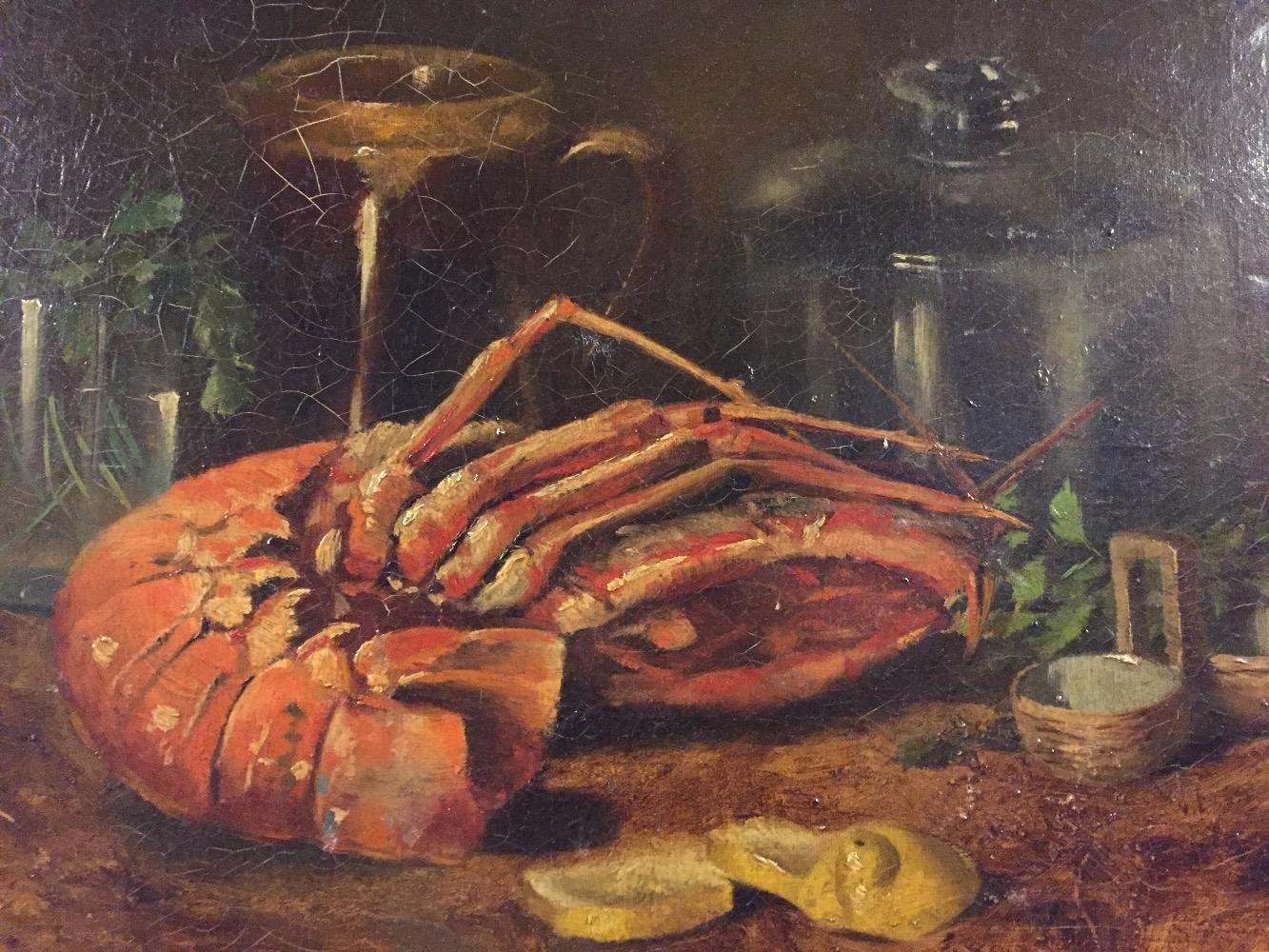 Stillife with lobster