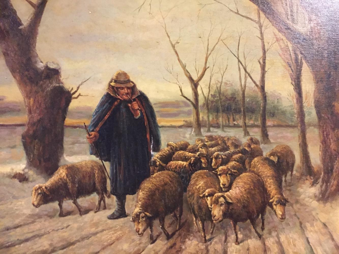 The happy shepherd