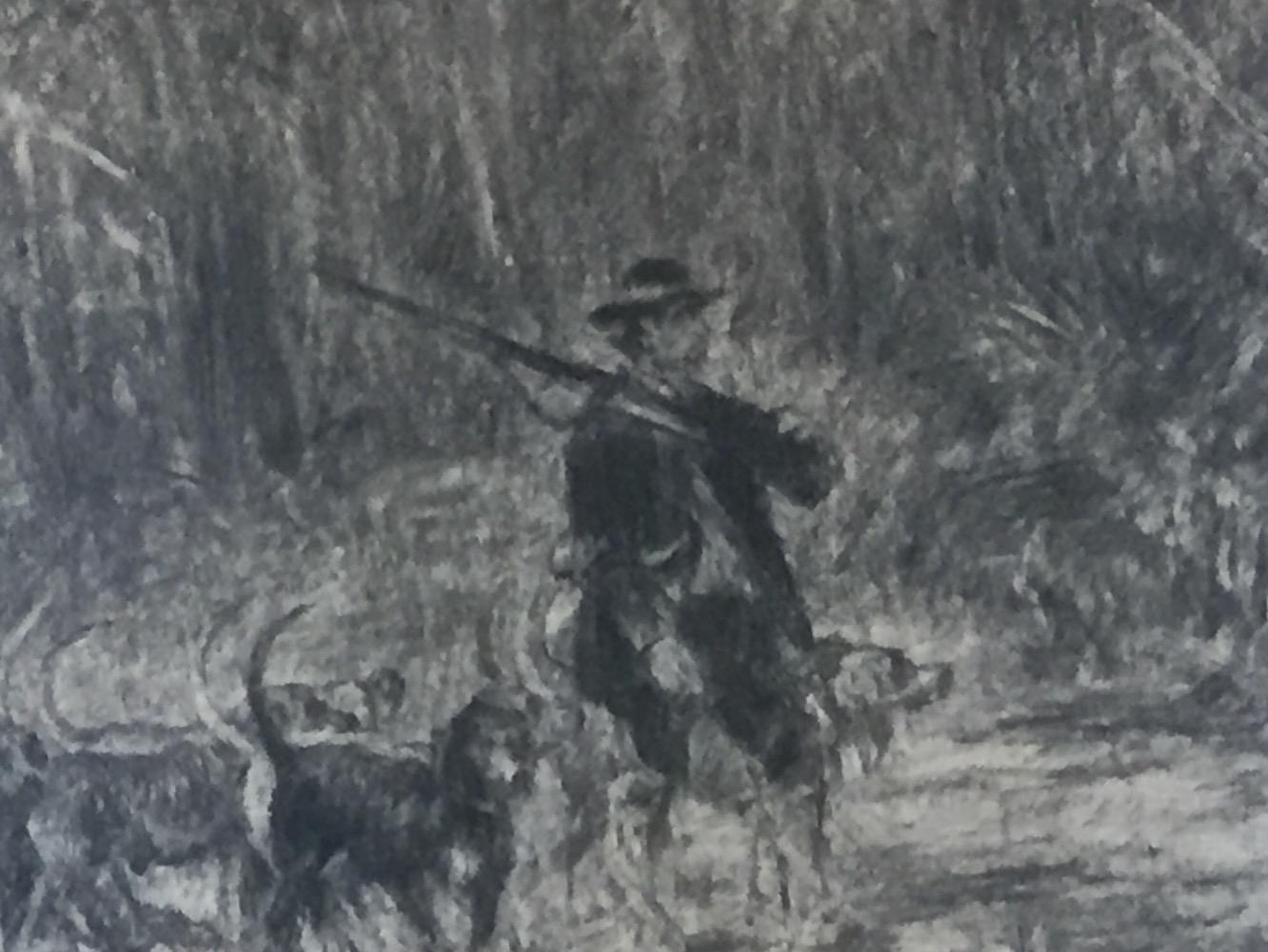 The hunter and his hounds