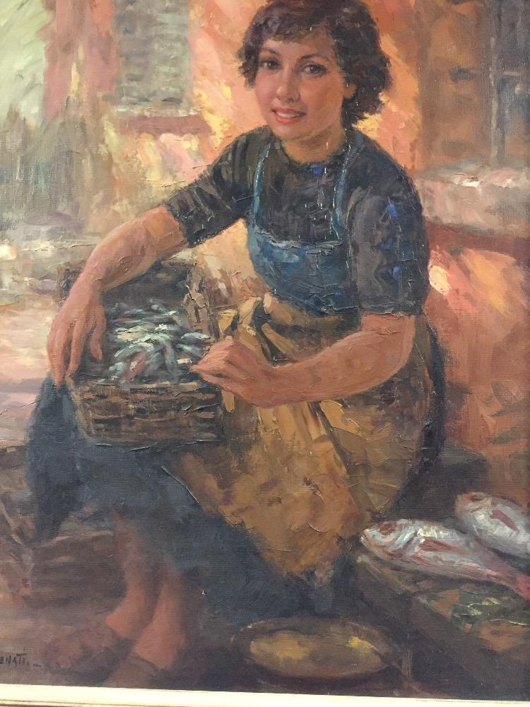 The Italian female fishmonger