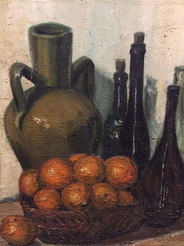 Stillife with oranges