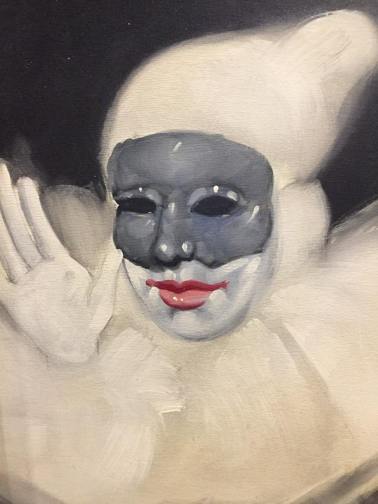 The white clown