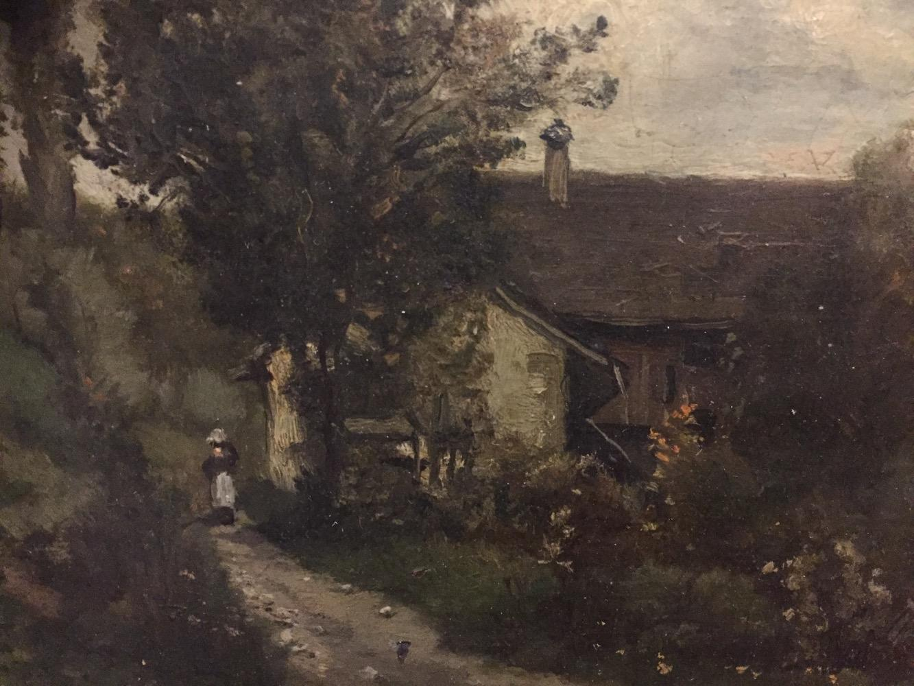 Woman at the farm