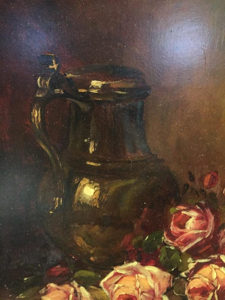 Stillife with red roses
