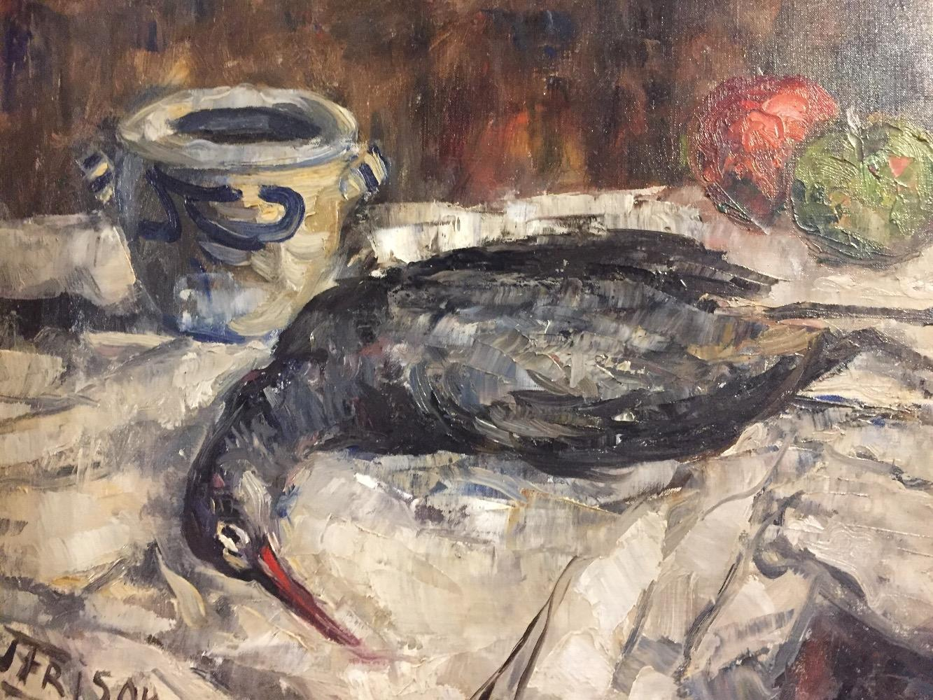 Stillife with bird