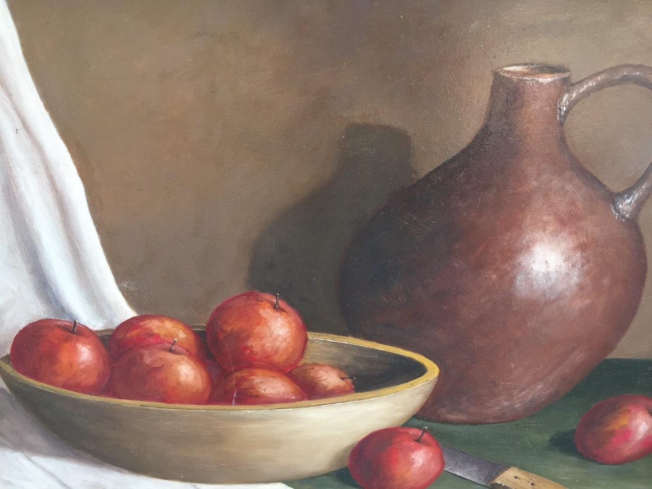 Stillife with apples