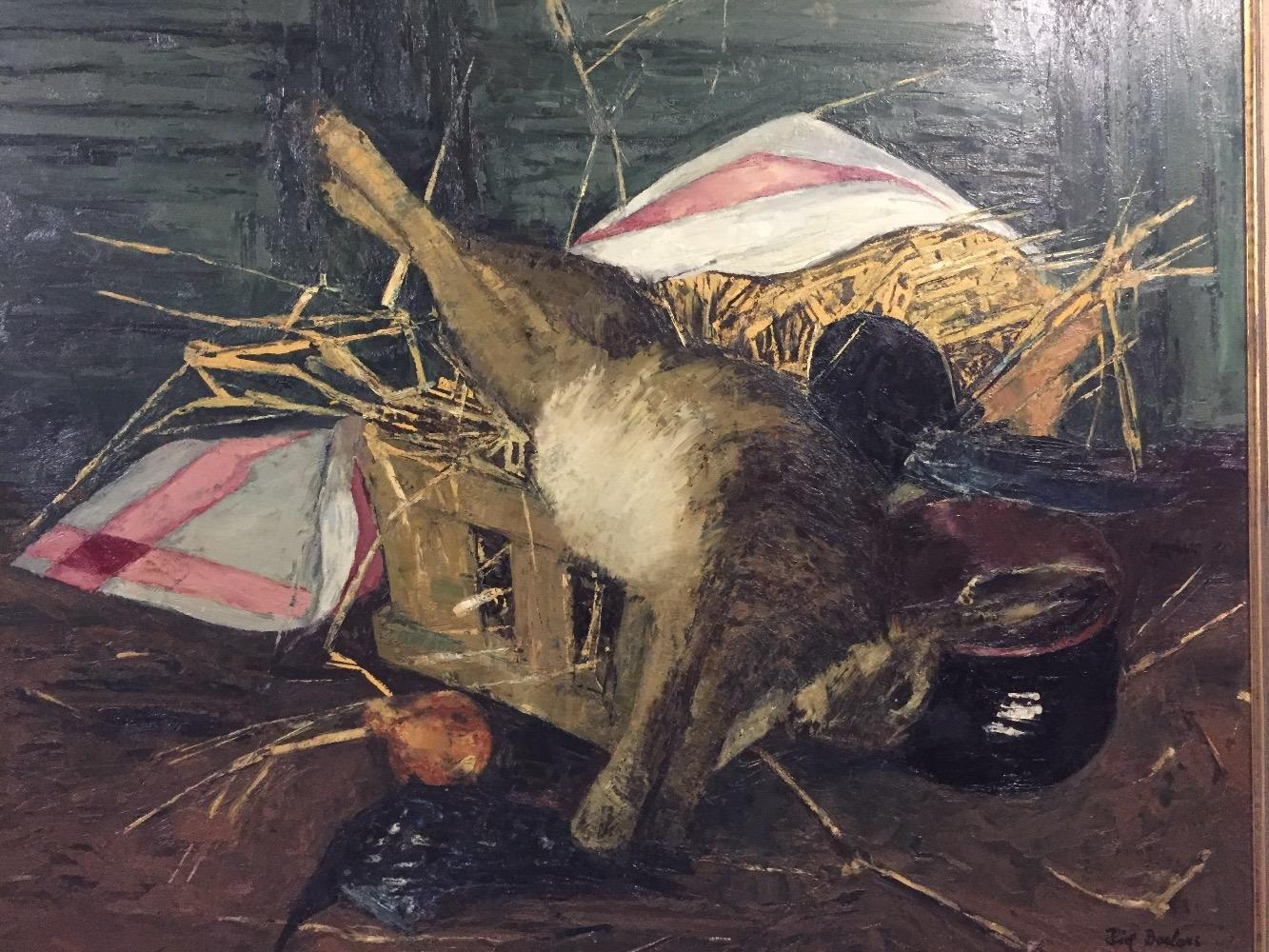 Stillife with a hare