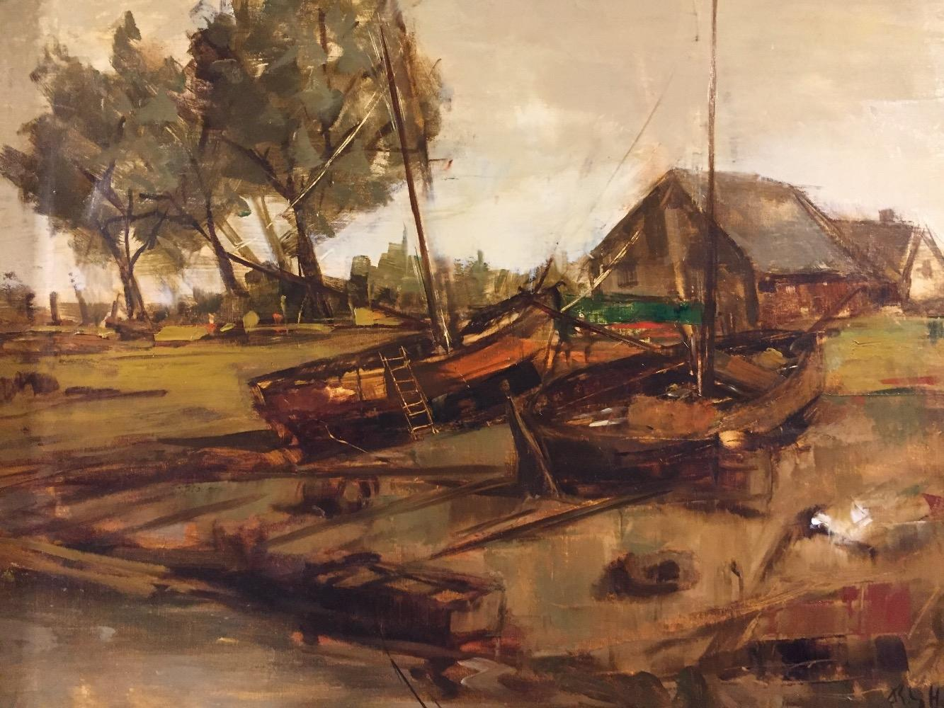 Boats at the borde