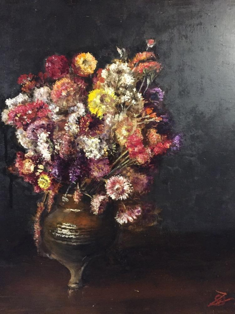 Stillife with flowers